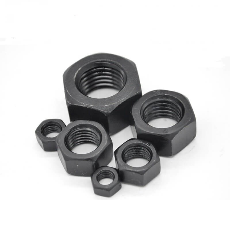 hex nut black