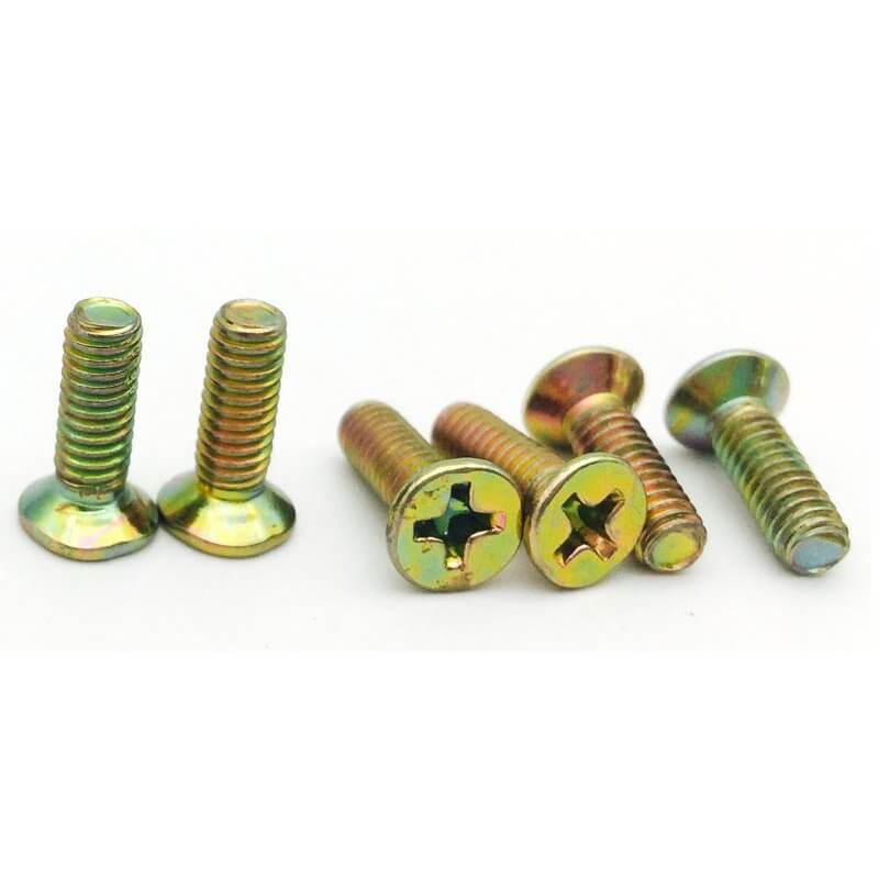 DIN 965 flat head screws
