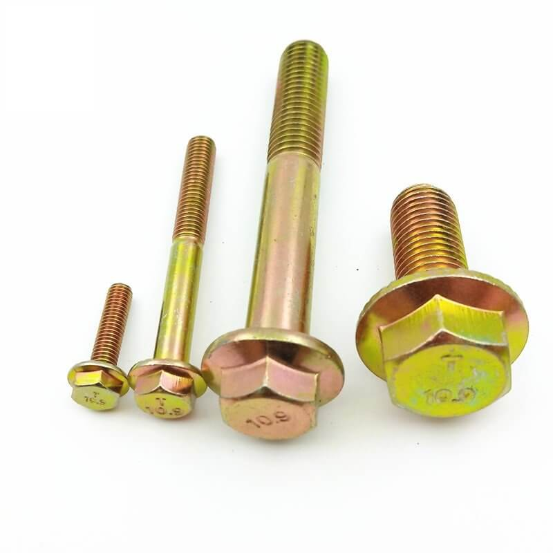 din 6921 metric flange bolts