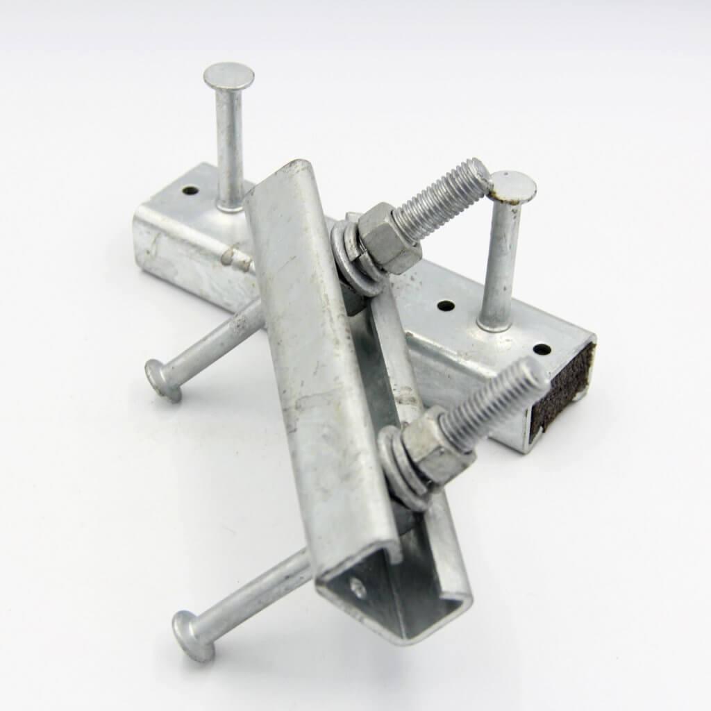 Halfen bolt serrated for fixing