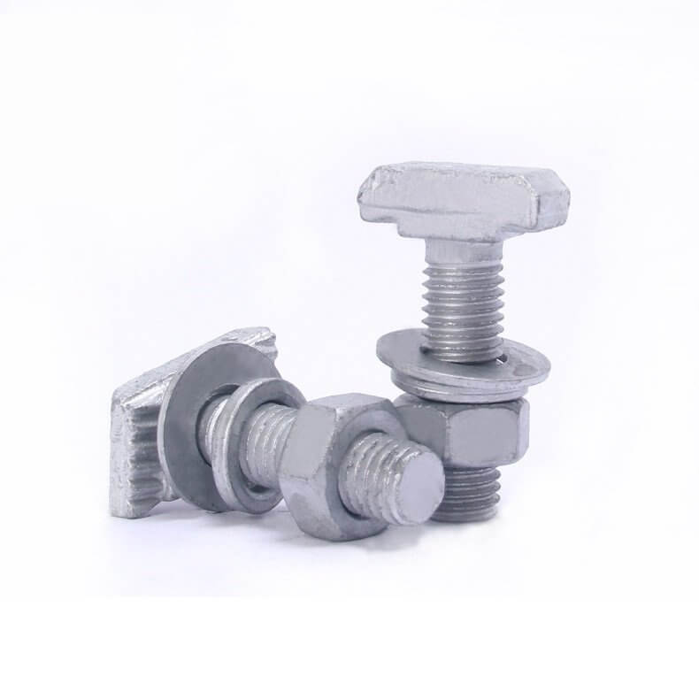 Halfen bolt serrated