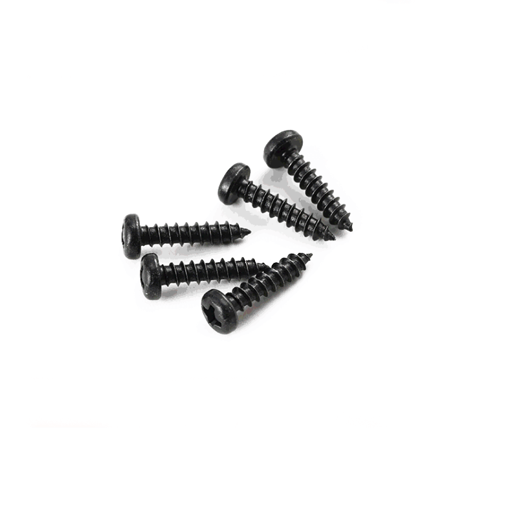 self tapping wood black screws