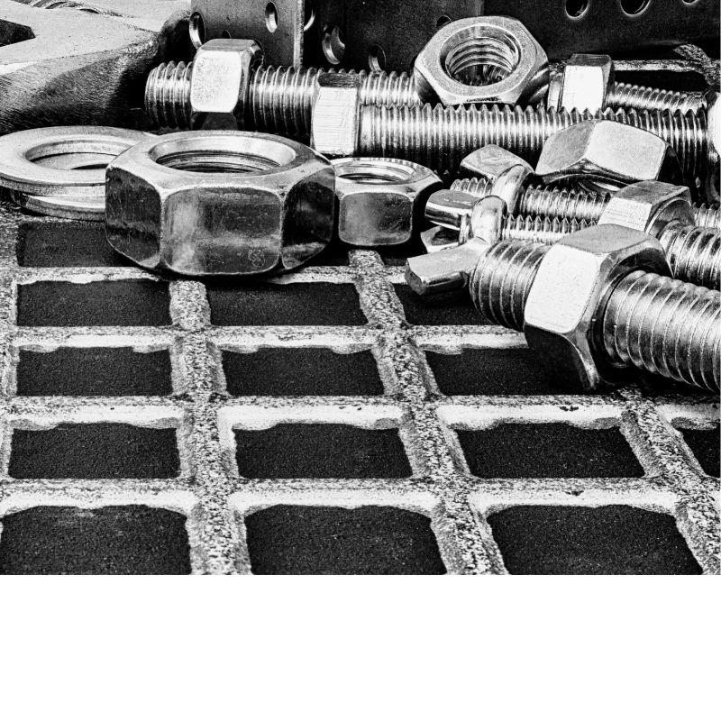 The different types and functions of fasteners